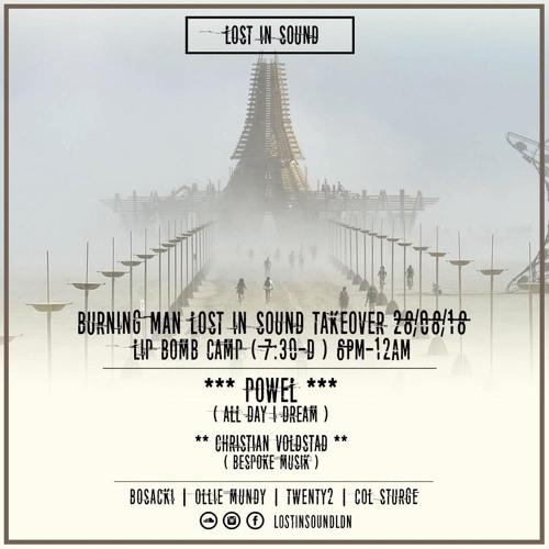 Burning Man 2018 - Sturge @ Lip Bomb