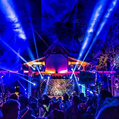DJ Mark Farina Live On The Living Room Stage, Shambhala Aug. 2018