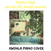 San Holo - brighter days feat. bipolar sunshine (kwohla piano cover)