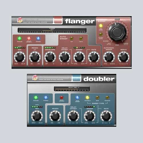 Fix Flanger Stereo example