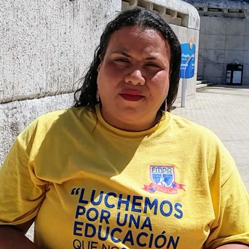 Voices Radio: Mercedes Martinez, President of the Puerto Rican Teachers Federation.