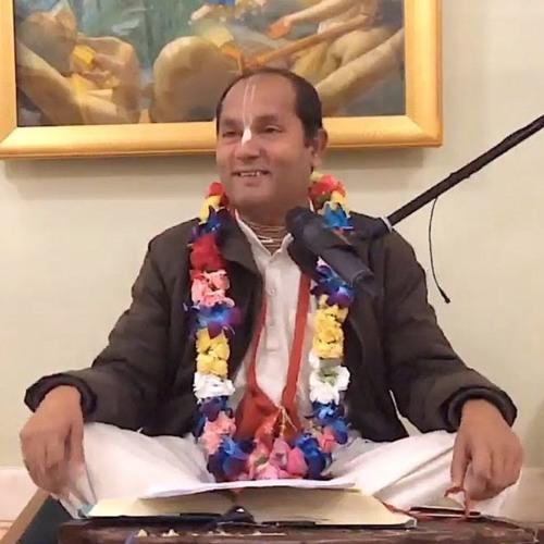 Śrīmad Bhāgavatam class on Sun 9th Sep 2018 by Sri Radha Vallabha Dāsa 4.13.36-37