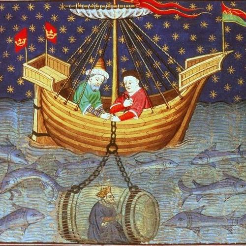 Le sous-marin d'Alexandre - La mer au Moyen-Âge