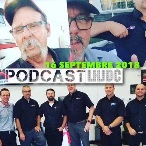 LHJDC Podcast du 16 septembre 2018  Ça va brasser!
