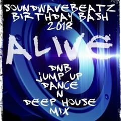 DNB Jump Up Mix pt2 2018 Funk The Council manz dont give a funk! DjSoundwaveBeatz Birthday Set 2018.