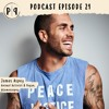EPISODE 21 WITH ANIMAL ACTIVIST JAMES ASPEY ON WHY HE GAVE UP MEAT AND YOU COULD TOO