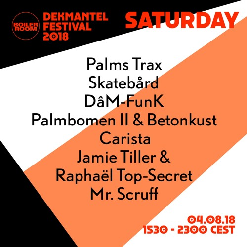 Betonkust & Palmbomen II | Boiler Room x Dekmantel Festival 2018