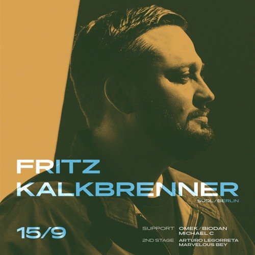 warm up for Fritz Kalkbrenner at Roxy Prague (Sep 15, 2018)