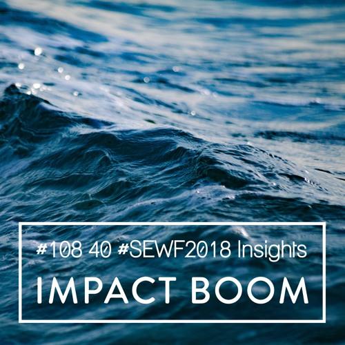 Episode 108 (2018) 40 Key Insights From Speakers & Delegates At Social Enterprise World Forum