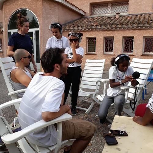 L'atelier radio de Couleurs Citoyennes au Regal Sound