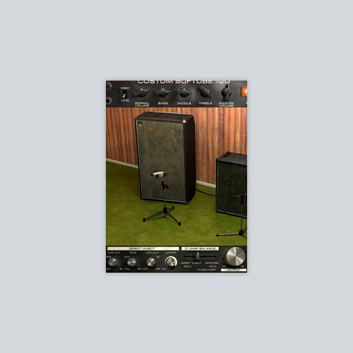 Bass Amp Room Production Samples