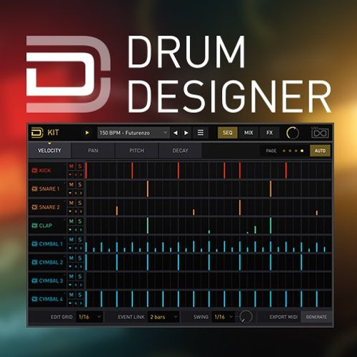 Drum Designer by Torley