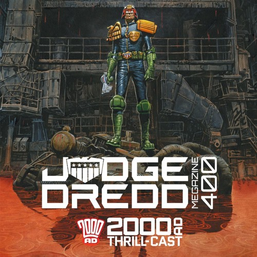 400 not out for the Judge Dredd Megazine!
