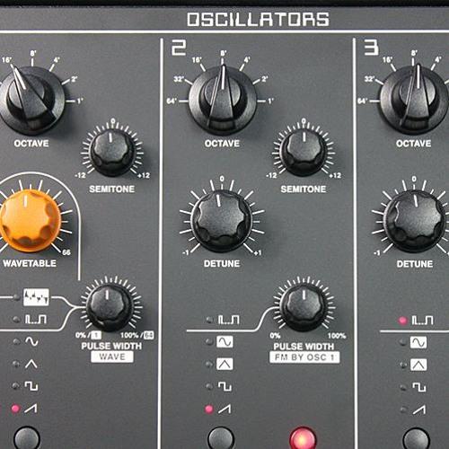 Sledge BandPass Filter Sweeps (Studiologic Sledge Synthesizer)