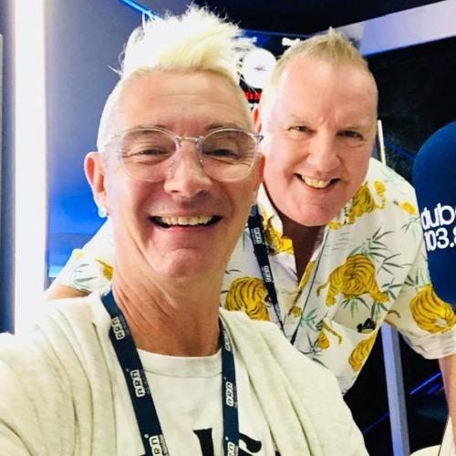 Mark Lloyd Interviews Phil Pendlebury on Dubai 103.8 Radio