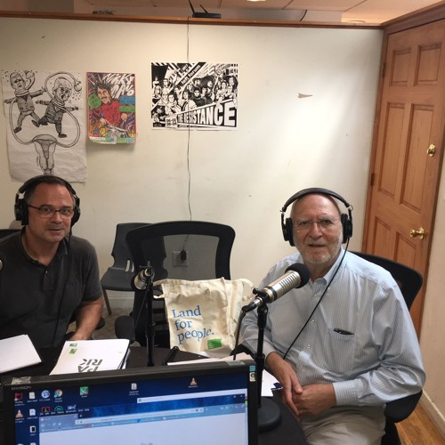 Adrian Benepe talks parks with Leonard. (9/19/18)