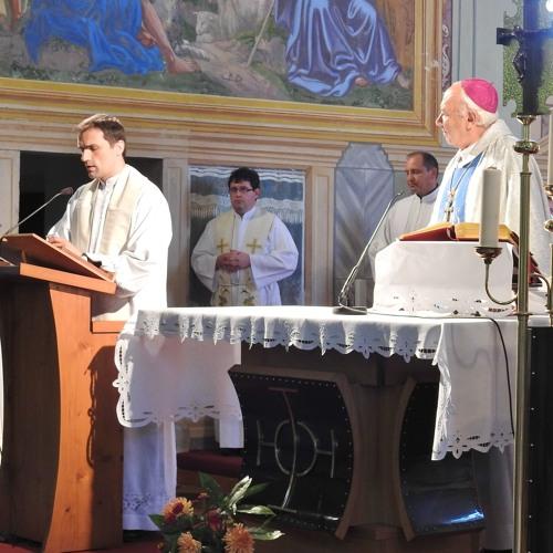 Prisluhni uvodu in pridigi na redovniškem dnevu v Logu pri Vipavi