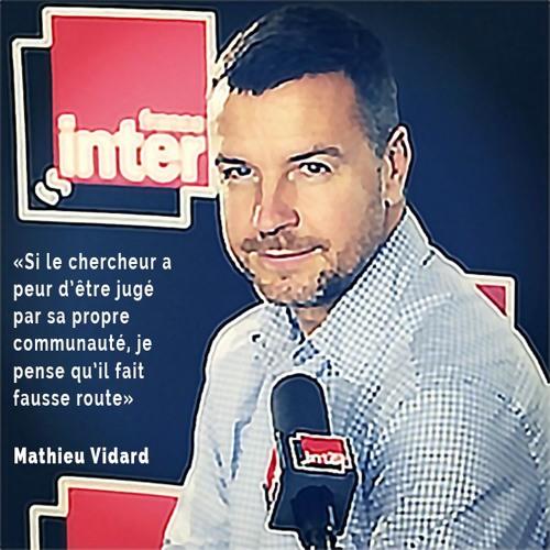 Mathieu Vidard - Les scientifiques et la vulgarisation