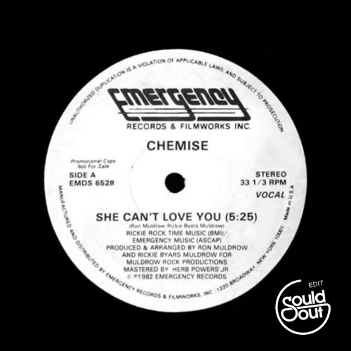 Chemise - She Can't Luv U (Sould Out Edit) /// FREE DOWNLOAD