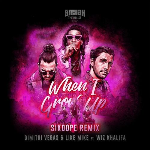 Dimitri Vegas & Like Mike ft Wiz Khalifa - When I Grow Up