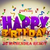 Happy Birthday Song With Congo|| Remix By DJ Mahendra || JMR Edits