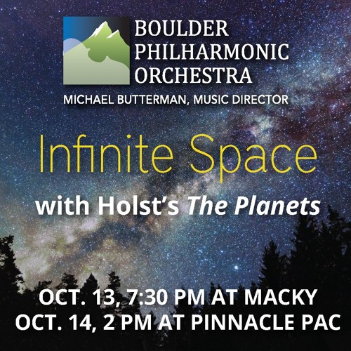 Boulder Philharmonic - Infinite Space podcast with Marilyn Cooley and Michael Butterman