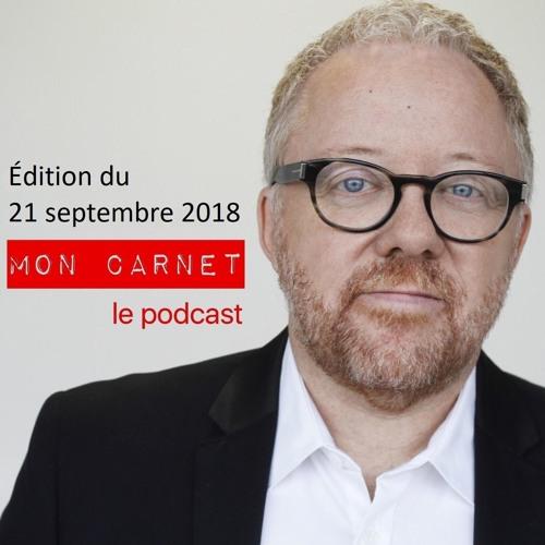 Mon Carnet - 180921