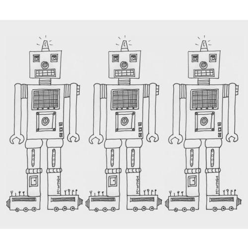 Noticing & the happy robots