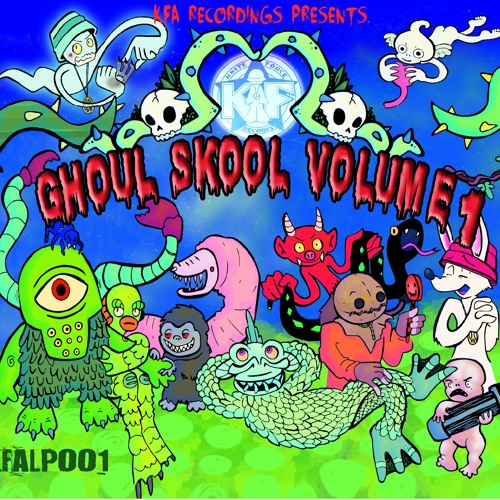 KFALP01 - Ghoul Skool Volume 1 (Promo Mix by Saiyan)
