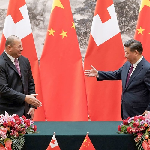 Australia and China in the Pacific