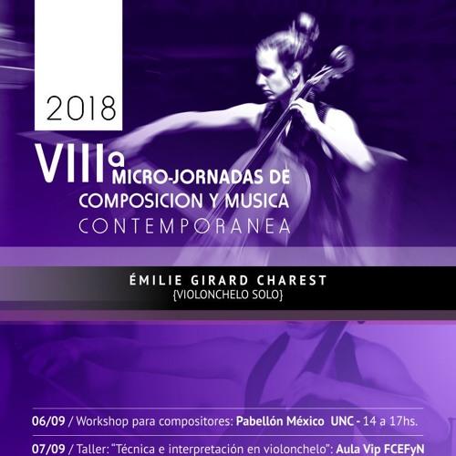 Émilie Girard-Charest | VIII° Micro-Jornadas 2018