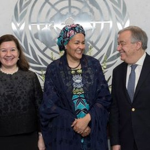 Barred from UN Slavery & Banks Event, Inner City Press Called CdC, Deputy SG & Smale