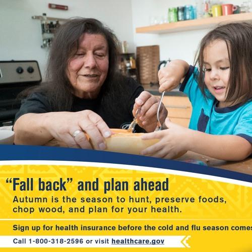 Fall back and plan ahead (Lakota)