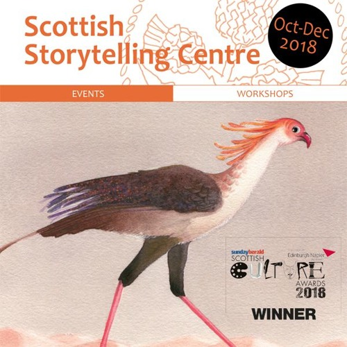 Scottish Storytelling Centre Audio Listings October-December 2018