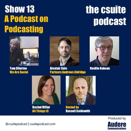 Show 13 - Podcasting