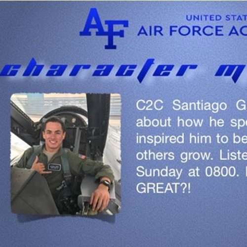 USAFA Character Matters: C2C Garcia & Founding Grind to Fly