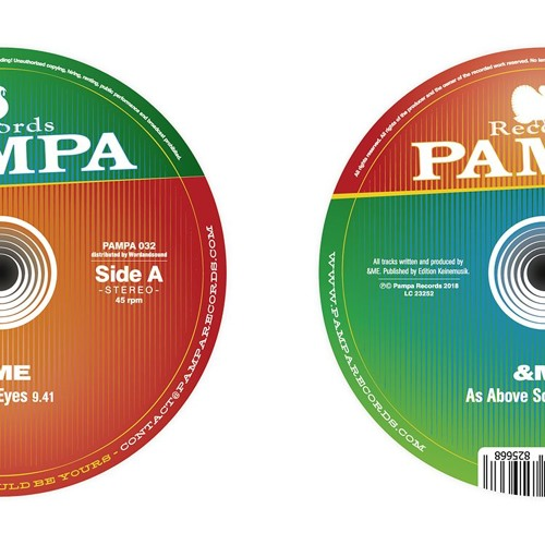 """Pampa032 - &Me """"In your eyes"""" EP"""