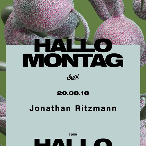 Jonathan Ritzmann @ Hallo Montag Open Air #17 (20.08.2018)