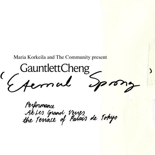 Gauntlett Cheng 'Eternal Spring' Mix [26.09.2018 Palais de Tokyo, Paris] with Blavatsky