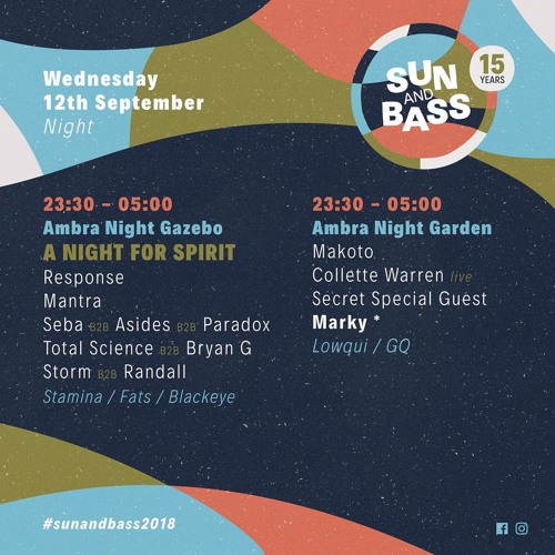 A Night For Spirit @ SUNANDBASS 2018