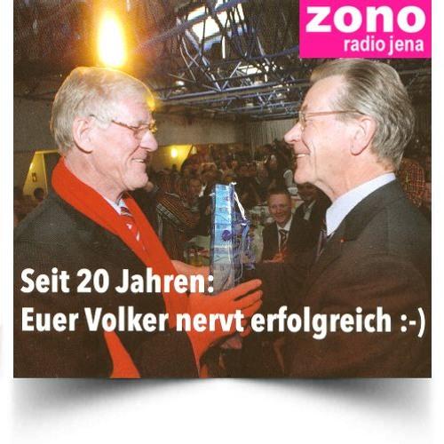 """""""Unterwegs in Jena"""": 20 Jahre OtBM Volker Blumentritt (mit Thomas Nitzsche und Franz Müntefering)"""