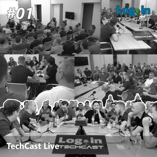 #Live 01 - Login TechCast Live!