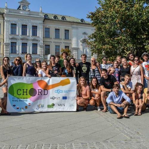 "Študentska oddaja (19. 9. 2018): C.H.O.R.D. ""Cultural Harmony of our Differences"" (Erasmus+)"