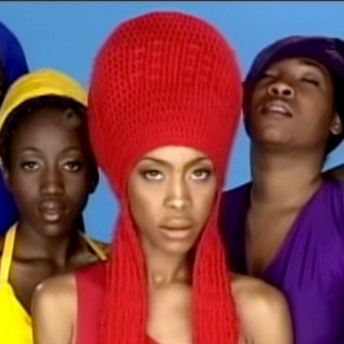 erykah badu + dr. dre = bag lady