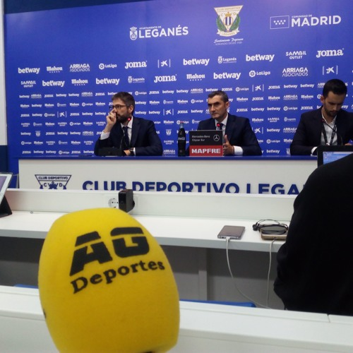 Ernesto Valverde tras el Leganés 2-1 Barça RDP