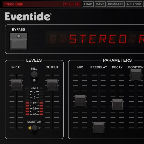 Eventide SP2016 Reverb