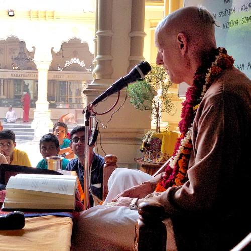 Make Krishna Consciousness the World Relgion-Vrindavan 30 Sept 2018