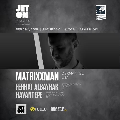 Ferhat Albayrak Live at Zorlu PSM Studio Istanbul 29.09.18 with Matrixxman