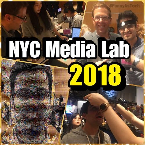 David & Joe talk about their experiences at the 2018 NYC Media Lab summit