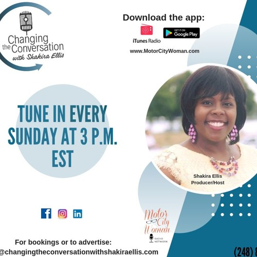 Changing The Conversation With Shakira Ellis 09 - 30 - 18
